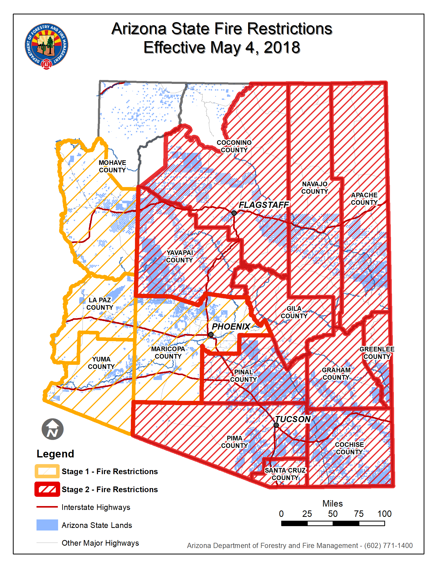 State Executing Stage Ii Fire Restrictions On Counties Across