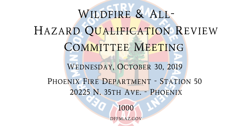 Review Committee Meeting Notice