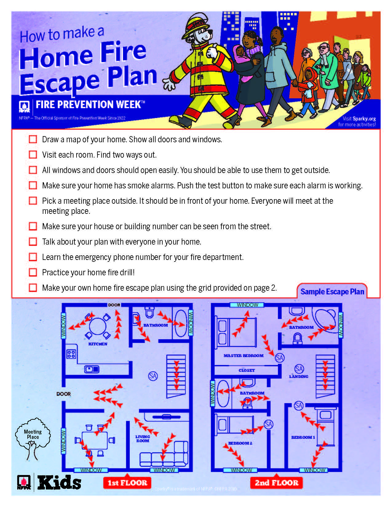 Fire Escape Plan