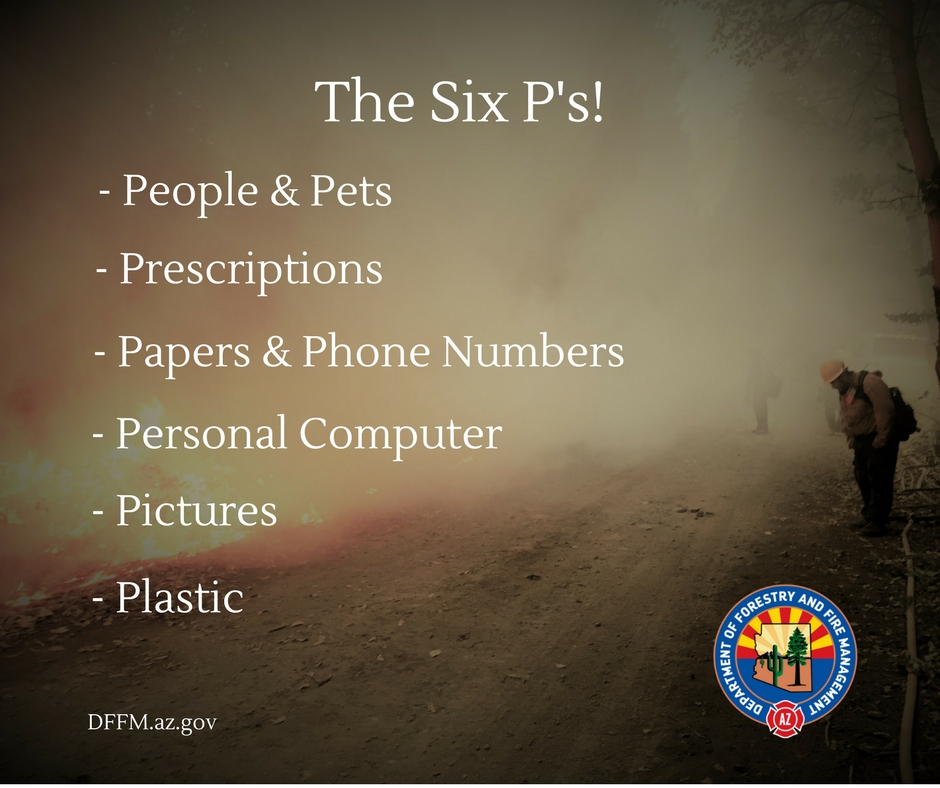 Six Ps of Evacuation