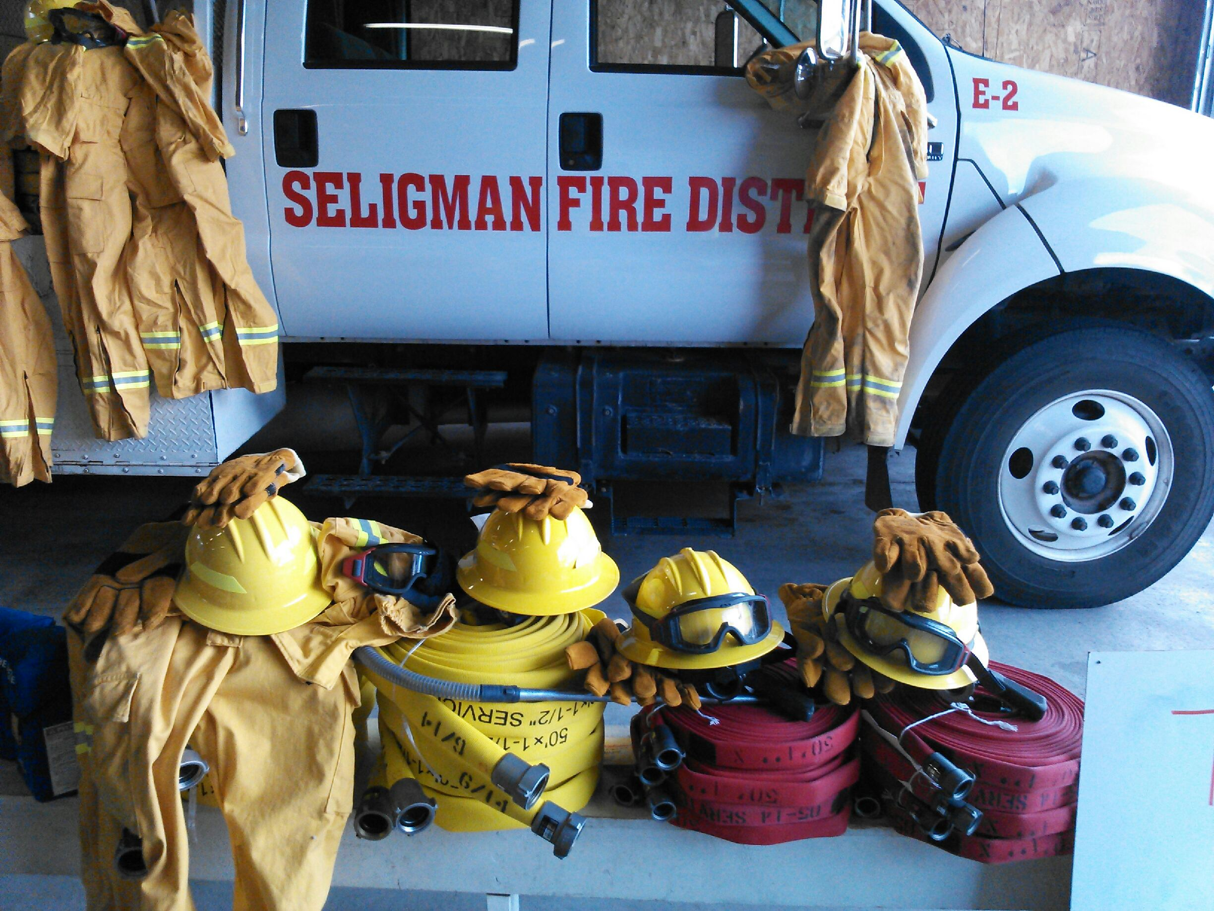VFA Grant Photo - Seligman FD PPE